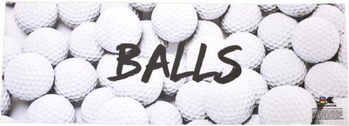 Golf Balls Cooling Towel