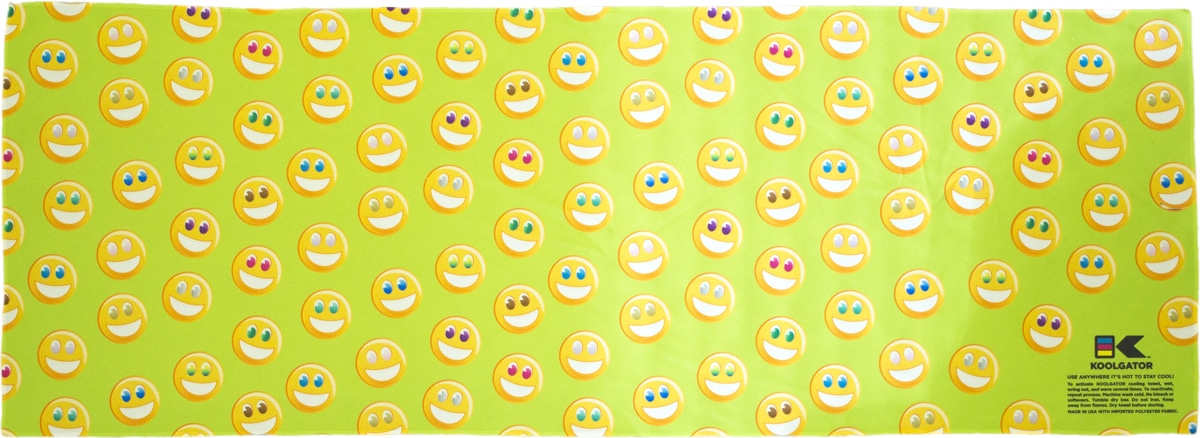 Happy/Smiles Cooling Towel