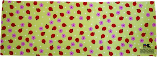 Ladybugs/Flowers Cooling Towel
