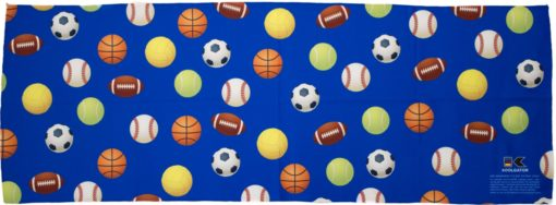 Sports Balls Cooling Towel