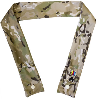 Scorpion Like Camo Cooling Neck Wrap