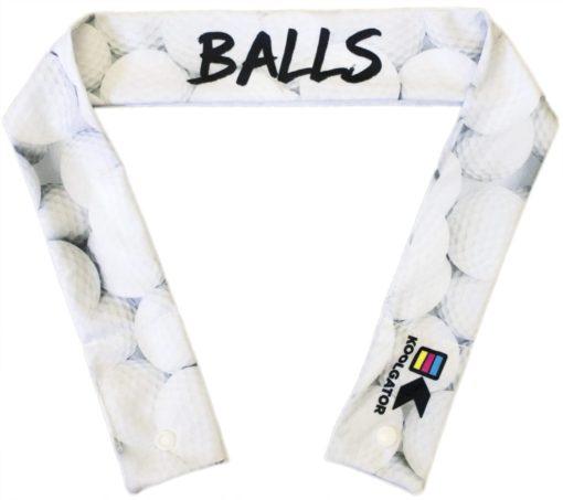 Golf Balls Cooling Neck Wrap