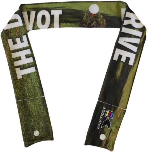 Golf Divot Drive Cooling Neck Wrap