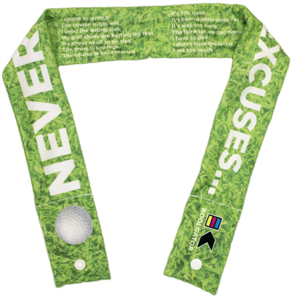 Golf Excuses Cooling Neck Wrap