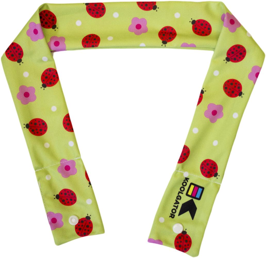Ladybugs/Flowers Cooling Neck Wrap