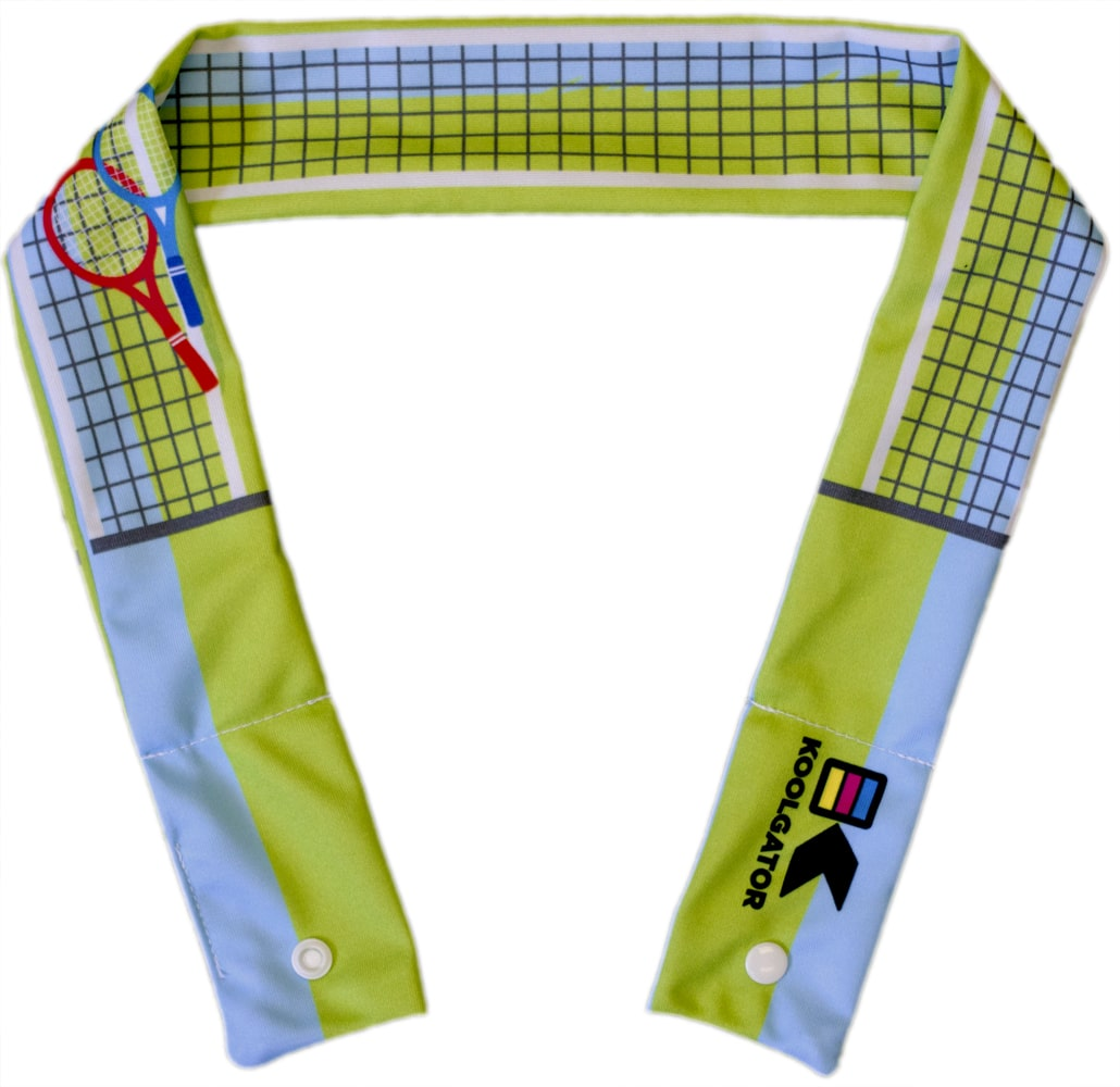 Tennis Court Cooling Neck Wrap