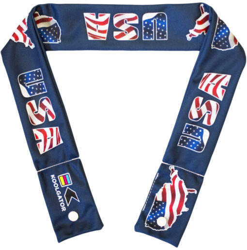 USA Cooling Neck Wrap