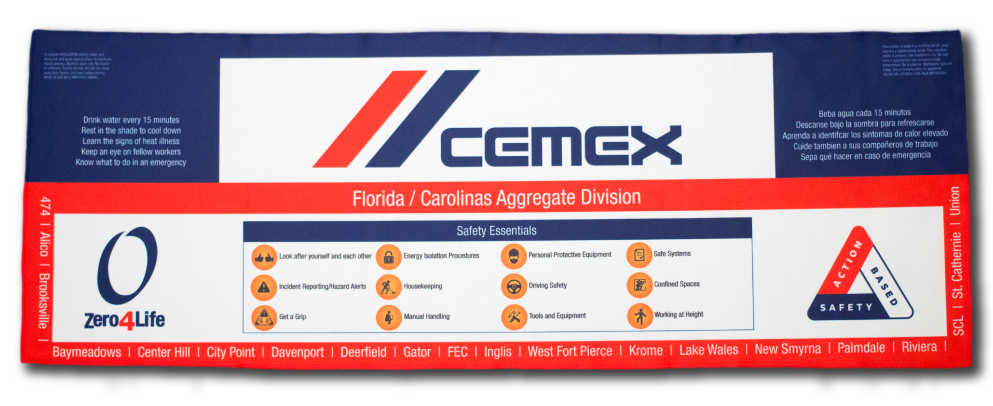 Cemex Cooling Towel